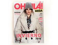 Diseño de Revista OHLALÁ! MODA - Otoño/Invierno 2018