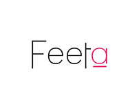 logo and branding for Feeta
