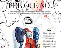 Diana Vreeland Illustration - Harper's Bazaar Mexico