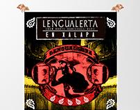 """Imagen Publicitaria """"Lengualerta"""" en concierto"""