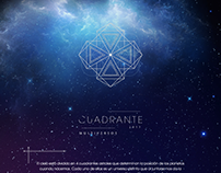 Single Page Website: Cuadrante 2017