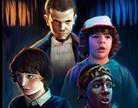 STRANGER THINGS / POSTER ART