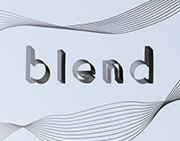 Blend // Experimental Type Project