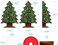 Holiday Fundraising Display