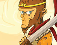 Monkey King Illustration