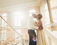 M + I wedding story