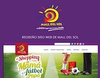 WEB DESIGN. Mall del Sol