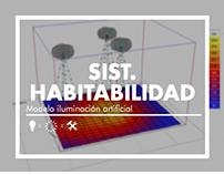 Sist. Habitabilidad: Iluminación artificial / ARQU-2320