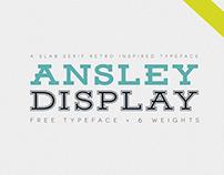 Ansley Display - Free Font