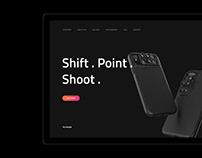ShiftCam Landing Page