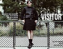 """Visitor"" editorial for ROUGH UK magazine"