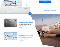 American Airlines Website Redesign