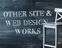 Other Site & Web Design Works