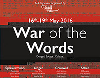 'War of the Words' | Typographic publication