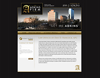 Adkins Firm Site Design