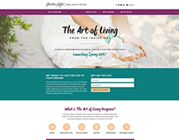 The Art of Living Sales Page | Sharlene Styles