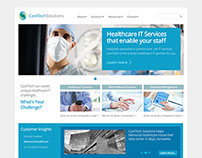 CareTech Solutions - Corporate Website Redesign