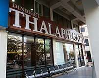 Thalappakatti Rest. signage Design & Detail Drawings