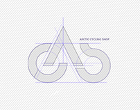 The Arctic Cycling Shop - Logo design