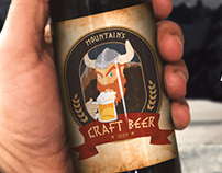 Logo & Mascote - Montain's Craft Beer