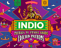 Cerveza Indio: México Unido Edición Muertos 2019