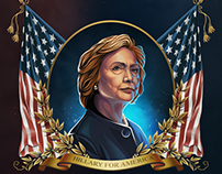 USA Presidential Election 2016 poster design contest