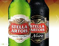 Stella Artois responsive website - app
