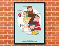 Zomato Farewell Posters
