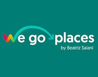 We Go Places Logo Design