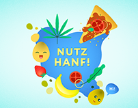 """Use Hemp! (Nutz Hanf!)"" Campaign"