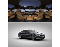 VR interior + 360 exterior of BMW 7