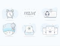Passive Icons