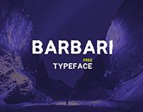 Free Barbari Sans Serif Textured Font