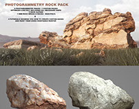 Photogrammetry Rock Pack TOOLKIT