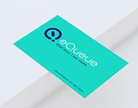 eQueue brand identity