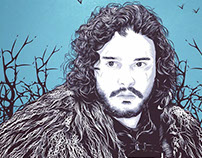 "Jon Snow ""The King in the North"""