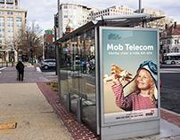 abrigo de ônibus para Mob Telecom