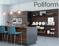 Free 3D Model Fancy Kitchen Poliform Varenna