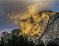 Yosemite Valley in spring, Yosemite NP, California
