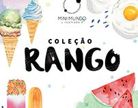 Coleção Rango 2016 - Ilustrações em aquarela
