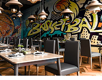 Basketball Restaurant