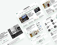 Imerisia • News portal design