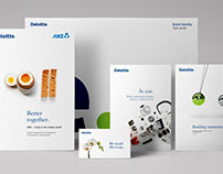 Deloitte – Corporate Brand Identity