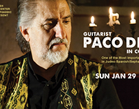 Guitarist Paco Diez in Concert