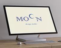 Logo Design for MOON Design Studio