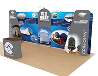 Trade Show Booth Design Power Generation