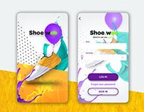 App UI design concept