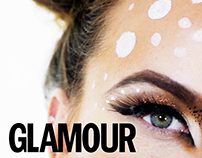 DIY Snapchat Deer Halloween Make Up Tutorial | Glamour