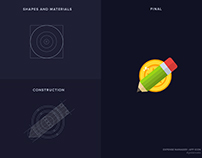 Expense Manager | App Icon | Golden Ratio