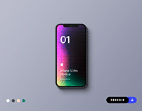 Freebie - iPhone 12 Pro Mockup - PSD